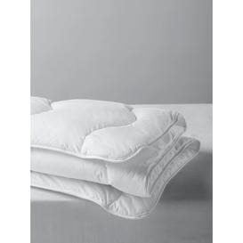 image-John Lewis & Partners Synthetic Collection Temperature Regulating 3-in-1 Duvet with 37.5 Technology, 13.5 Tog (4.5 + 9 Tog)