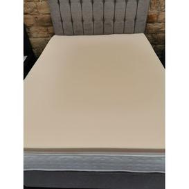 image-Memory Foam Mattress Topper 5cm Single 3ft Symple Stuff Size: Small Double (4')