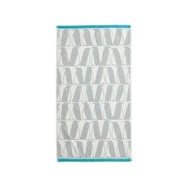 image-Scion Pedro Hand Towel, Arctic Grey