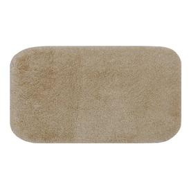 image-McCallsburg Rectangle Bath Mat Ebern Designs Colour: Dark Beige, Size: 2.8cm H x 57cm W x 100cm L