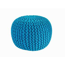 image-Antoinette Pouffe Zipcode Design Upholstery Colour: Teal
