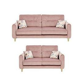 image-Picadilly Fabric 3 Seater + 2 Seater Sofa Set (Buy And Save!)