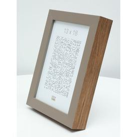 "image-Hage Picture Frame Ebern Designs Colour: Beige\Brown, Size: 8"" x 12"""