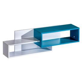 image-Mangum Wall Shelf Isabelle & Max Finish: Grey