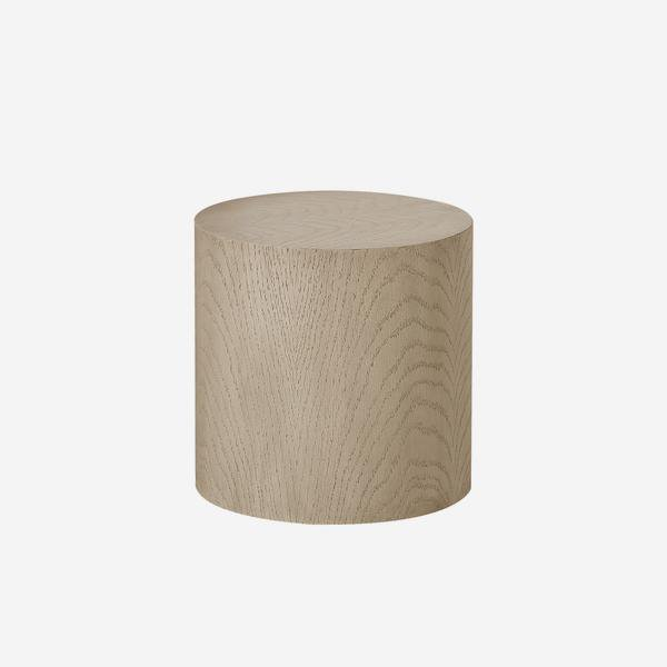 image-Andrew Martin Morgan Round Oak Side Table