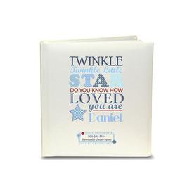 image-Personalised Boys Twinkle Childrens Photo Album