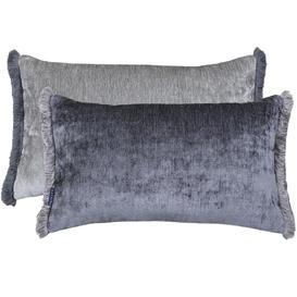 image-Mottram 30cmx 50cm Reversible Cushion Charcoal
