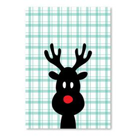 image-'Reindeer Christmas' by Ashlee Rae Graphic Art Americanflat