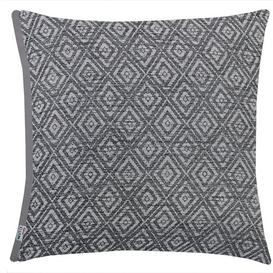 image-Charli Pillow Cover Mercury Row Colour: Anthracite, Size: 38 x 38cm