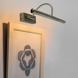 image-Adjustable 2 Picture Wall Light Marlow Home Co. Colour: Antique Brass