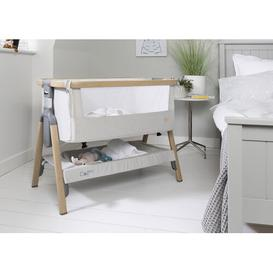 image-CoZee Bedside Crib Tutti Bambini Colour: Silver