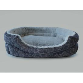 image-Sherie Bolster Cushion in Grey/Cream Archie & Oscar