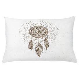 image-Imaani Yoga Dreamcatcher Outdoor Cushion Cover Ebern Designs Size: 40cm H x 65cm W