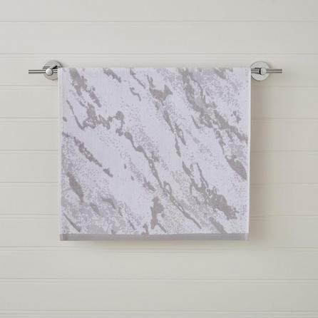 image-Grey Marble Hand Towel Grey