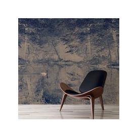 image-Swan Wall Mural (colour: Blue, size: Small (150w x 320h))