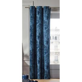 image-Kali Eyelet Blackout Curtain Madura Colour: Blue