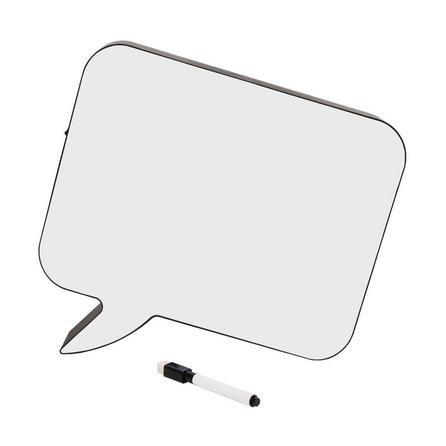 image-Light Up Speech Bubble Whiteboard Lamp White