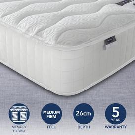 image-Silentnight 1400 Pocket Memory Mattress White