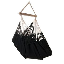 image-Cotton Hanging Chair Freeport Park Colour: Black