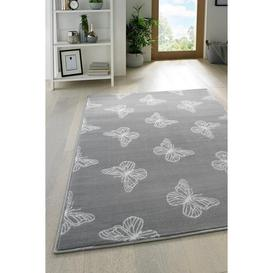 image-Butterfly Scatters Rug
