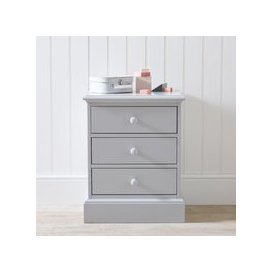 image-Classic Bedside Chest, Grey, One Size