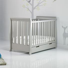 image-Stamford Mini Sleigh Cot Bed Obaby