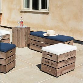 image-Edington Stool with Cushion Sol 72 Outdoor