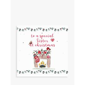 image-Laura Sherratt Designs Stocking Sister Christmas Card