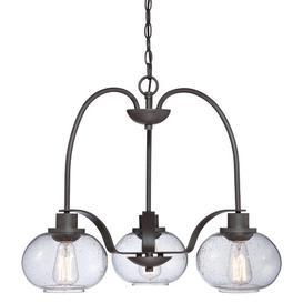 image-Carmen 3-Light Shaded Chandelier Laurel Foundry