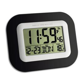 image-Clavier Radio Controlled Wall Clock Symple Stuff