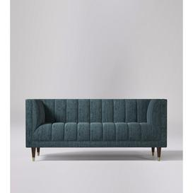 image-Swoon Willem Two-Seater Sofa in Anthracite Smart Wool