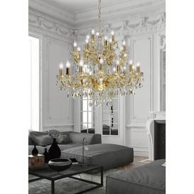 image-Minor 28-Light Candle Style Chandelier Willa Arlo Interiors