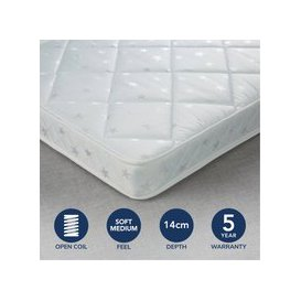image-Fogarty Little Sleepers Water Resistant Open Coil Mattress White