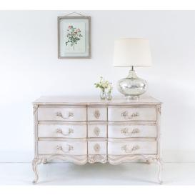 image-Delphine Distressed Shabby Chic Chest of Drawers