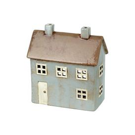 image-House Mulberry Ceramic Hurricane August Grove