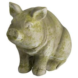 image-Azuela Sitting Hereford Pig Ornament Sol 72 Outdoor