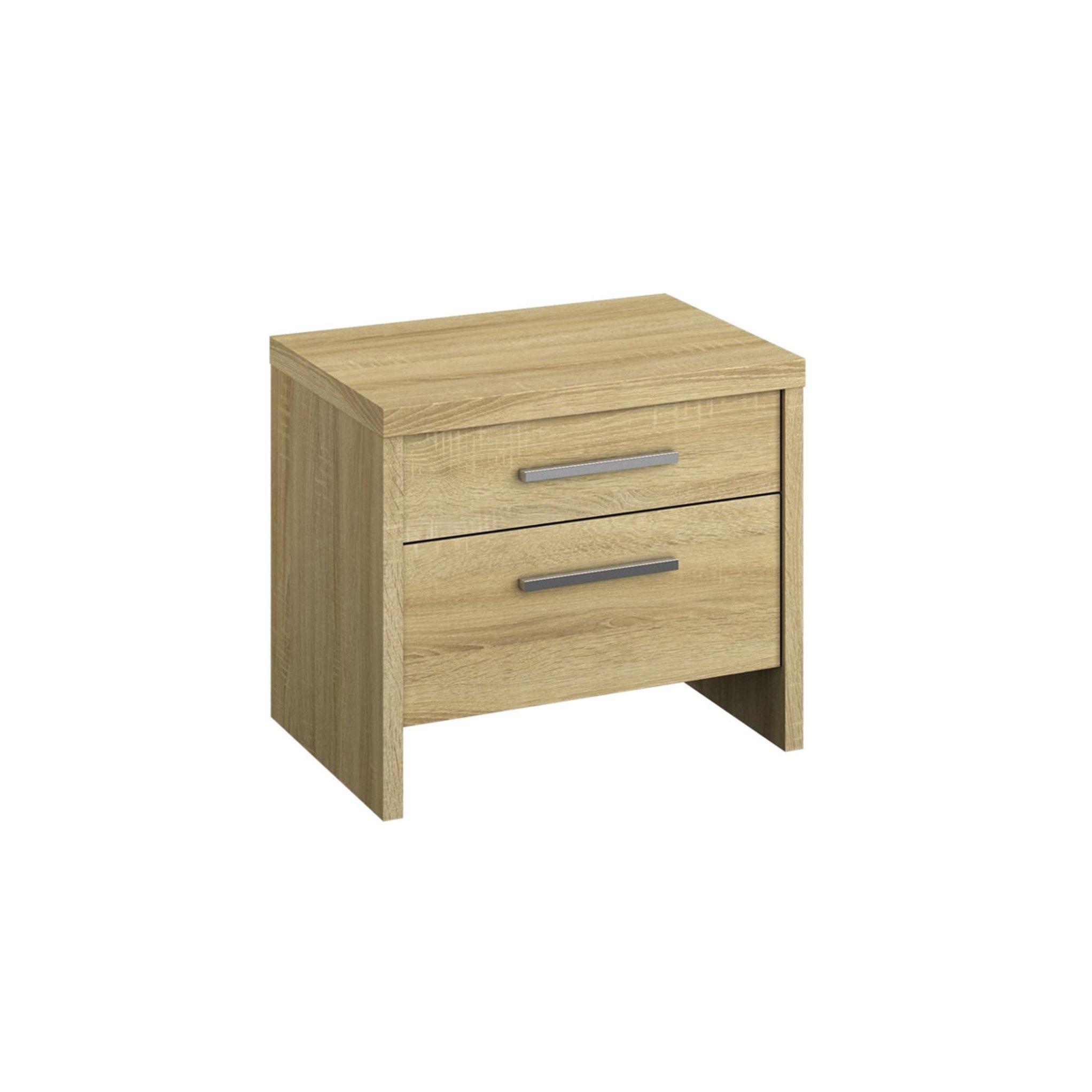 image-Mirabel 2 Drawer Bedside Table