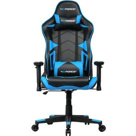 image-Fontes Ergonomic Gaming Chair Brayden Studio Colour (Upholstery): Blue