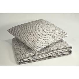 image-Gerberoy Bedspread August Grove Size: W250 x L250cm, Colour: Pearl/Clay