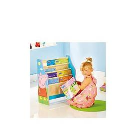 image-Peppa Pig Kids Sling Bookcase