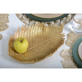 image-Gingko Leaf Decorative Plate
