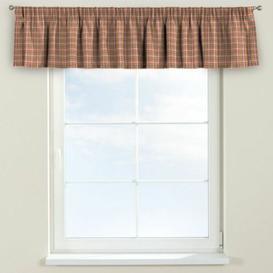 image-Bristol Curtain Pelmet Dekoria Size: 260cm W x 40cm L, Colour: Pink/Green