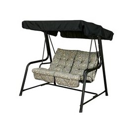 image-Bracken Outdoors Country Teal Vienna 2 Seat Swingseat