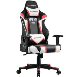 image-Fontana Ergonomic Gaming Chair Brayden Studio Colour (Upholstery): Red