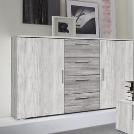 image-Sideboard Mercury Row Colour: Helle Kiefer/Dunkle Kiefer
