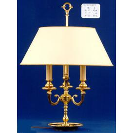 image-Desmarais 57cm Table Lamp Astoria Grand Base Finish: Polished Brass