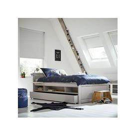 image-Lifetime Kids Small Double Cabin Bed - Lifetime Whitewash