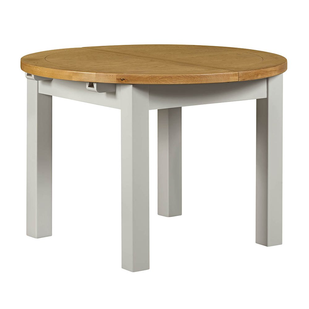 image-Hove Grey Painted Furniture Round Dining Table
