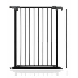 image-Ivor Tall Multi Panel Opening Extension Safety Gate Symple Stuff Colour: Black