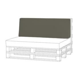 image-Sofa Cushion Sol 72 Outdoor Colour: Grey